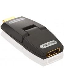 Adapter - HDMI [HDMI F - HDMI M] - obrotowy...