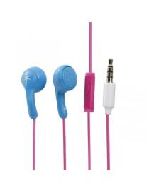 Słuchawki douszne HED KANDI KANDIES CHAT BLUE PINK