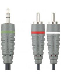 Przewód stereo [3.5mm St M - 2RCA M] - 1.0m...