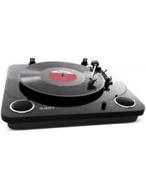 Gramofon z głośnikami stereo ION MAX LP CZARNY