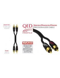 QED PROFILE Przewód stereo [2x RCA M - 2x RCA...
