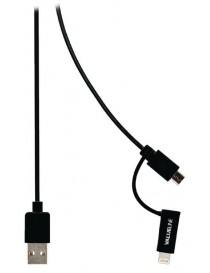 2w1 Lightning i micro USB BANDRIDGE...
